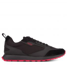 Black Retro-Inspired Icelin Runners Trainers