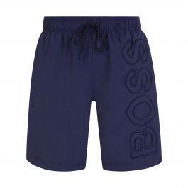 Navy Whale Swim Shorts
