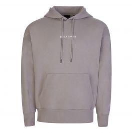 Grey Leval Popover Hoodie