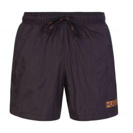 Black Quick-Dry Haiti Swim Shorts