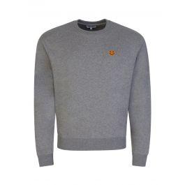 Grey Tiger Crest Sweatshirt
