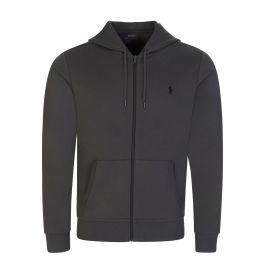 Charcoal Grey Tech Zip-Through Hoodie