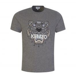 Grey Classic Tiger T-Shirt