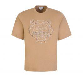 Dark Beige Tiger T-Shirt