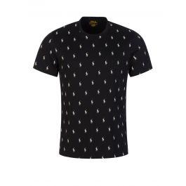 Black Signature Pony T-Shirt