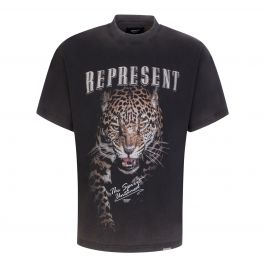 Black 'The Spirit Untamed' T-Shirt
