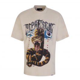 Vintage White 'As Good As Dead' T-Shirt