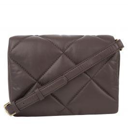 Dark Brown/Gold Brynn Chain Bag