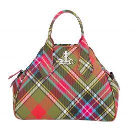 Multicolour Derby Medium Yasmine Bag