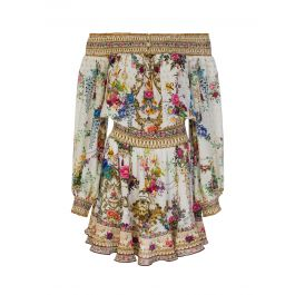 By The Meadow Off The Shoulder Short Dress