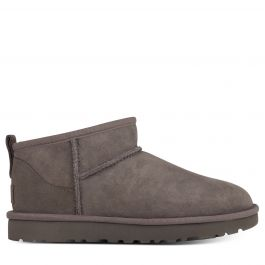 Grey Classic Ultra Mini Boots