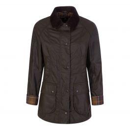 Green Classic Beadnell Wax Jacket