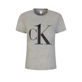 Grey CK One Logo T-Shirt