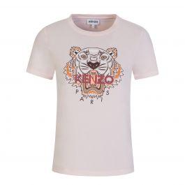 Pink Classic Tiger Print T-Shirt