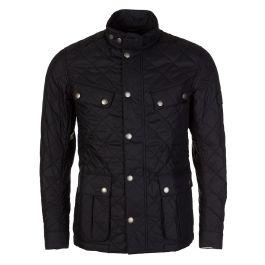 Black Quilted Ariel Jacket